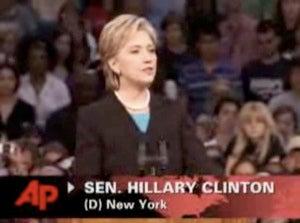 "Hillary Clinton: ""Elect Barack Obama"""