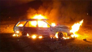 How a Man Saved His House by Setting His Car on Fire
