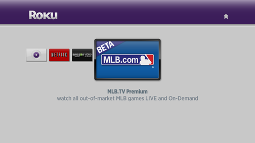 Live Streaming MLB Games Now Available on Roku