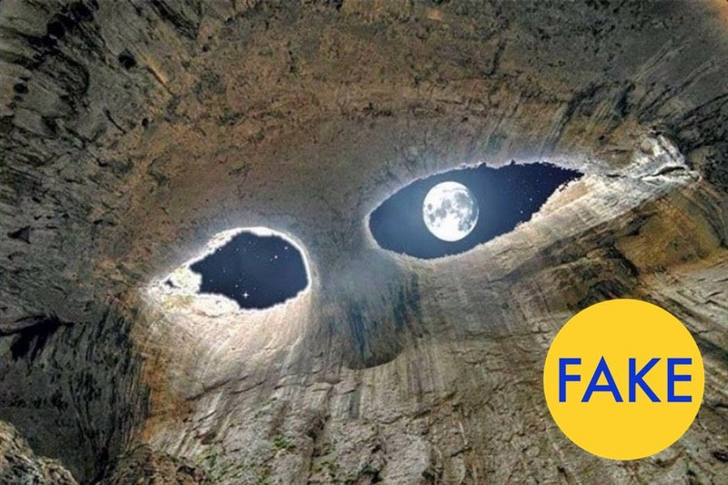 7 More Viral Photos That Are Totally Fake