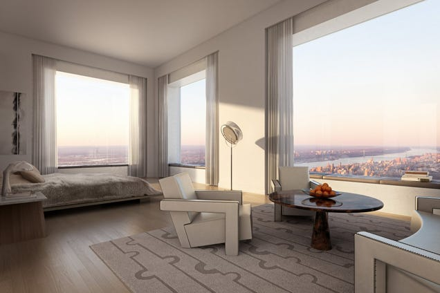 The View from the Top of NYC's Tallest New Apartment Building Is Nuts