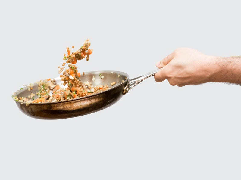 How to toss food in a pan like a cool pro chef