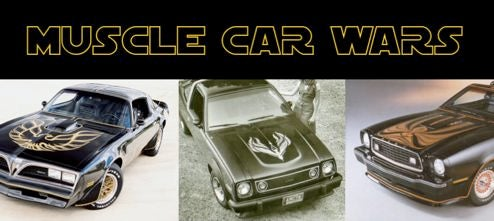 Muscle Car Wars Of 1978: Hood Decals Strike Back