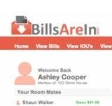 BillsAreIn Makes Short Work of Shared Living Expenses