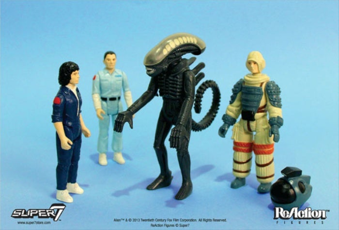 34 years later, these Alien action figures are finally being released!