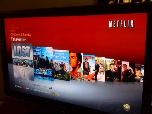 Xbox 360 Updates, Streams Netflix with Friends in Party Mode