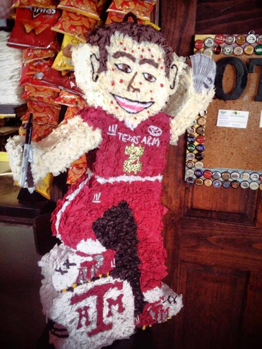 Alabama Bar Features Johnny Manziel Piñata For Patrons To Smash
