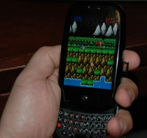 Palm Pre Gets Linux-Based NES Emulator