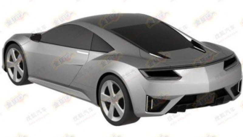 2015 Acura NSX Images Courtesy Of Leaky Chinese 'Patent Office' [UPDATE: No They Didn't]