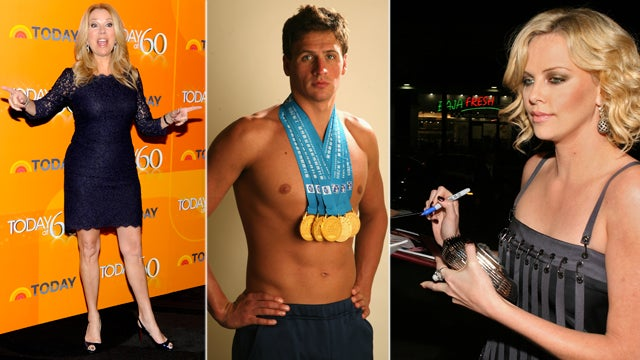 A Hangover with Kathie Lee, a Real Life Fan Fic with Ryan Lochte, A Note from Charlize: The Best Celebrity Auction Prizes
