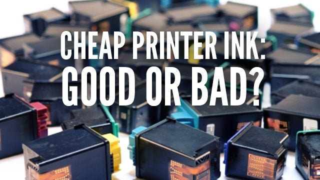 When You Should and Shouldn't Buy Cheap Printer Ink