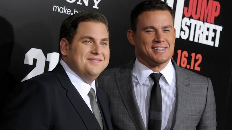 Jonah Hill and Channing Tatum Went Skinny Dipping Together, Bro-Style