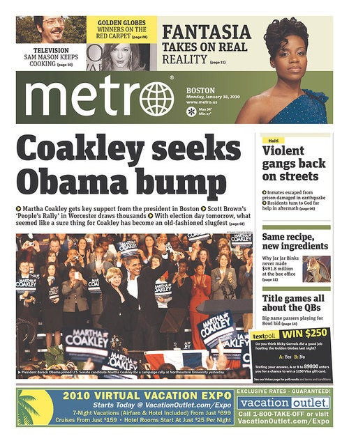Pictures Imply Affair Between Obama and Coakley