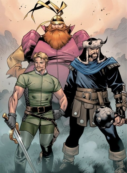 Titus Pullo And Lestat Save Us From A Chuck-Filled Thor