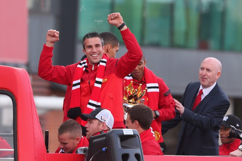 Robin Van Persie Sent Piers Morgan A Great Gift For Crybabies