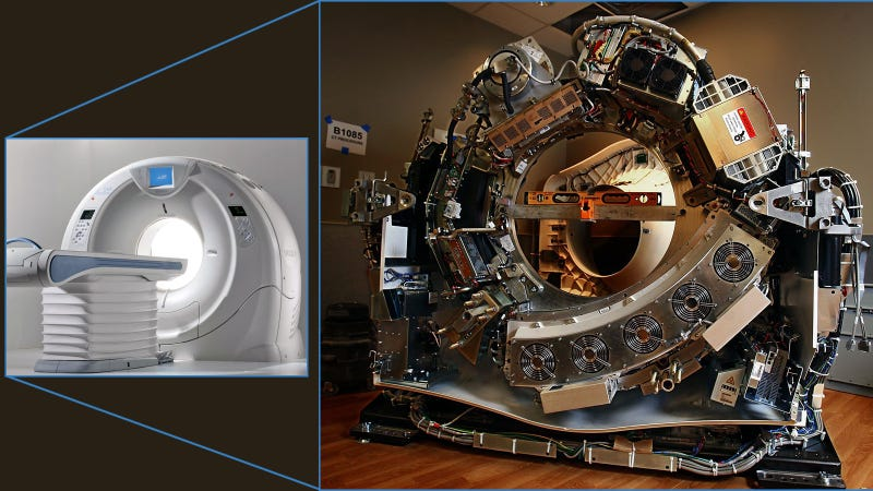 This Is How a Medical Scanner Looks Without Its Skin