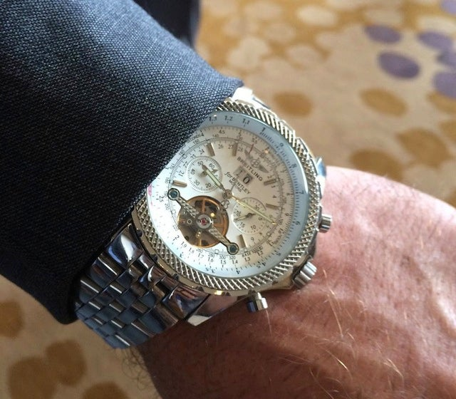 Kliff Kingsbury's Swaggy And Expensive-Looking Watch Is Probably Fake