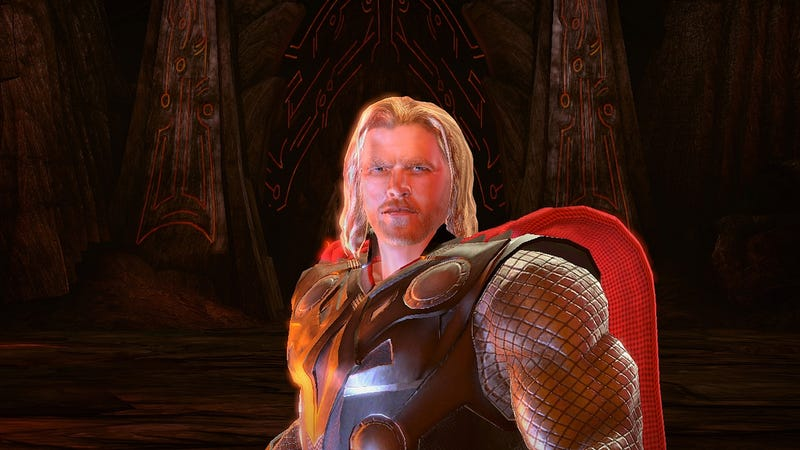 Thor Video Game And Thor Movie Will Star The Same Guy