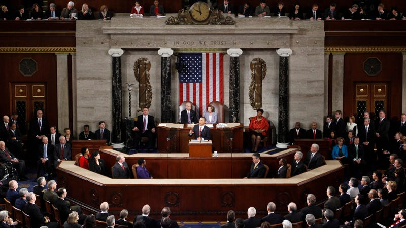 Should The Two Parties Sit Together at the State of the Union?