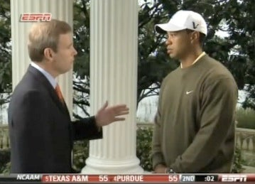 "ESPN On Five-Minute Tiger Interview: ""More Important For Us To Have No Restrictions"""
