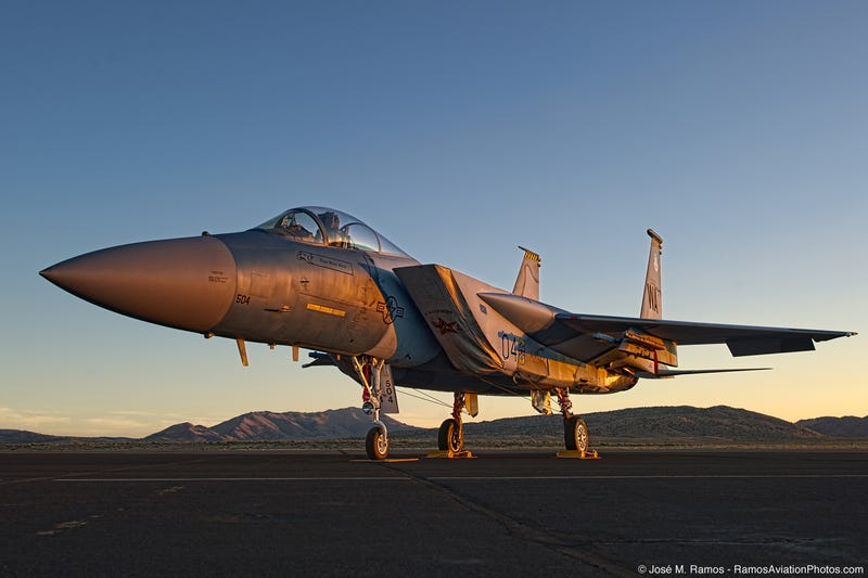 "José ""Fuji"" Ramos Is A Photographer Whose Studio Is An F-5 Tiger"