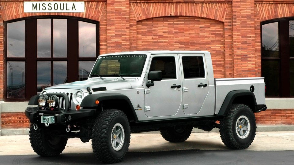 The Jeep Brute Double Cab You Know For Families