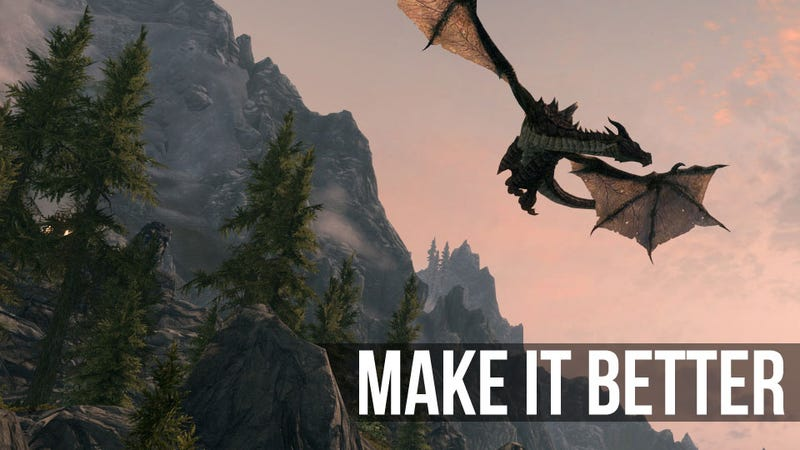 Your Guide to Getting Skyrim Looking, And Playing, Better