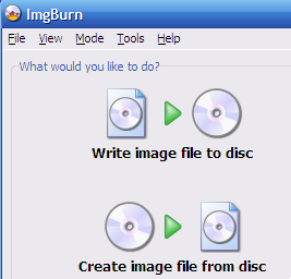 Hive Five Winner for Best CD and DVD Burning Tool: ImgBurn