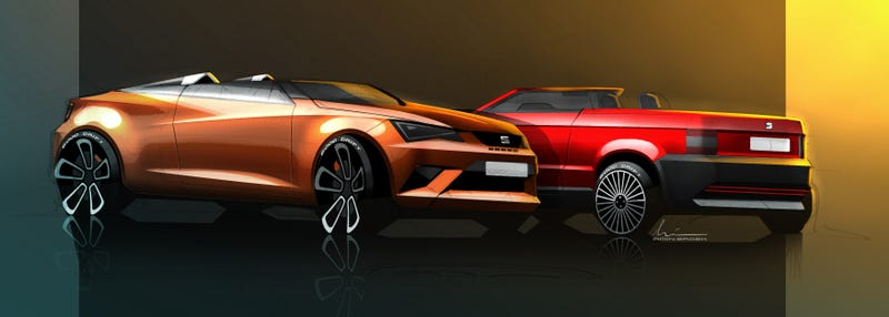 Seat Ibiza Cupster Concept: Less Roof For More Fun
