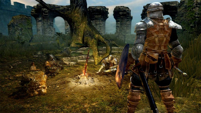 My 30 Minutes (and Twelve Deaths) Playing Dark Souls' Tutorial