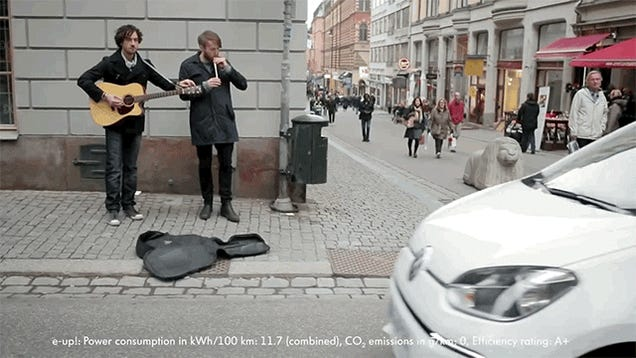 Electric Cars Are Safer and Cooler With A Beatboxer Guy At The Back
