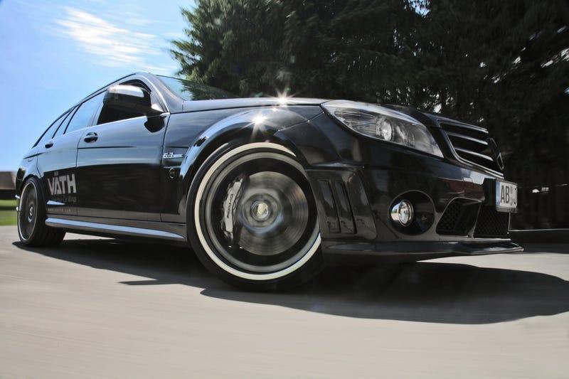 VATH V63RS: Mercedes Station Wagon Hits 202 MPH