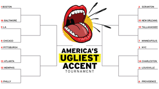 America's Ugliest Accent, Round One: Boston, Baltimore, L.A., Chicago
