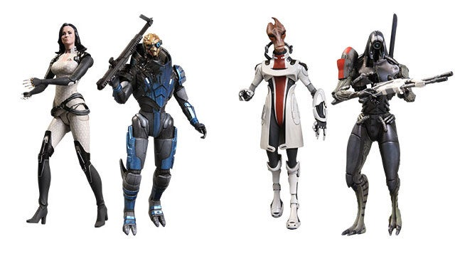 Mass Effect Action Figures Back from the Dead