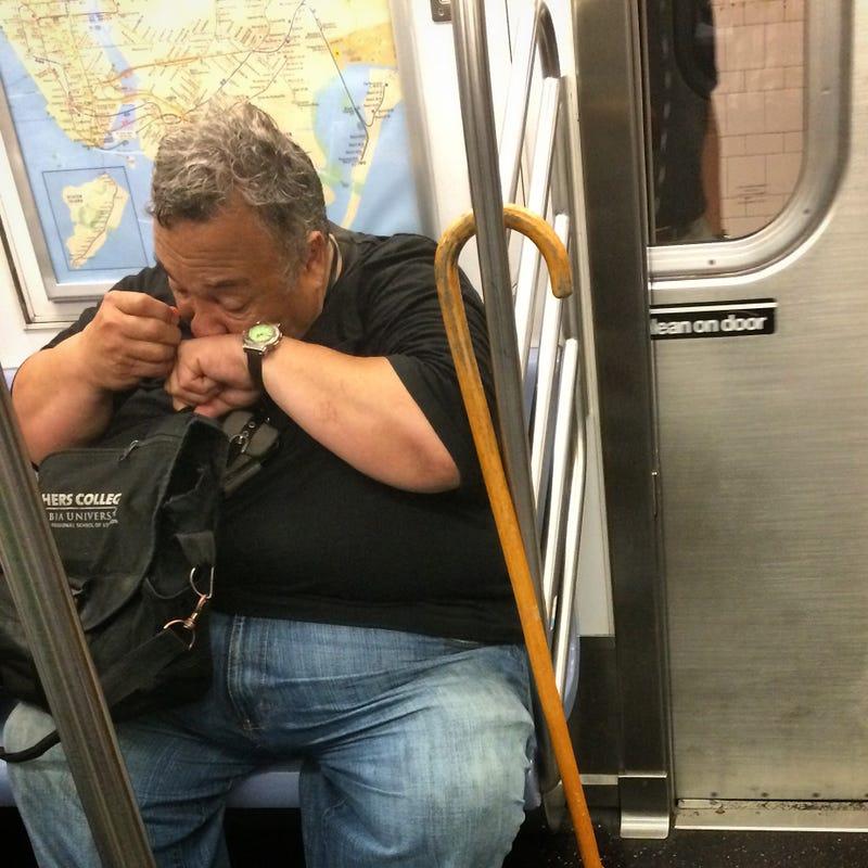 Take the subway, they said