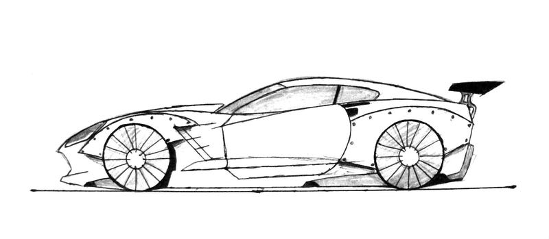 What if the Corvette C7 Was Given the Rocket Bunny Treatment?