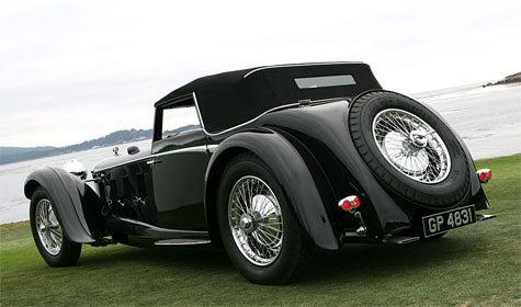 Jalopnik Fantasy Garage: 1931 Daimler Double Six 50 Corsica Drophead Coupe