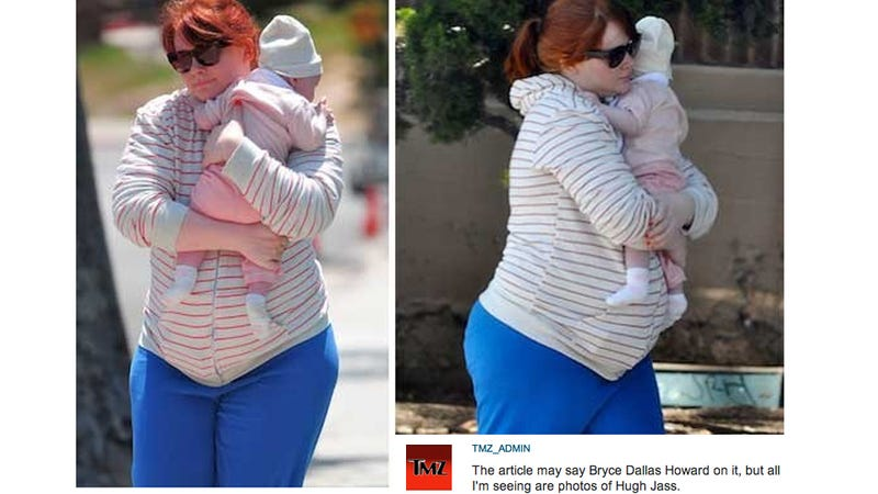 TMZ Makes Fat Jokes About Bryce Dallas Howard's Post-Baby Body on Freaking Mother's Day [Updated]