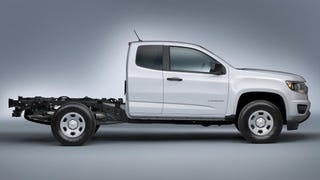 2015 Chevy ColoradoChassis-Cab Can Carry 2,200 Pounds Of Anything