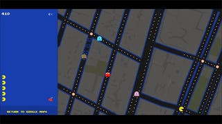 You Can Play <i>Pac-Man</i> On Google Maps
