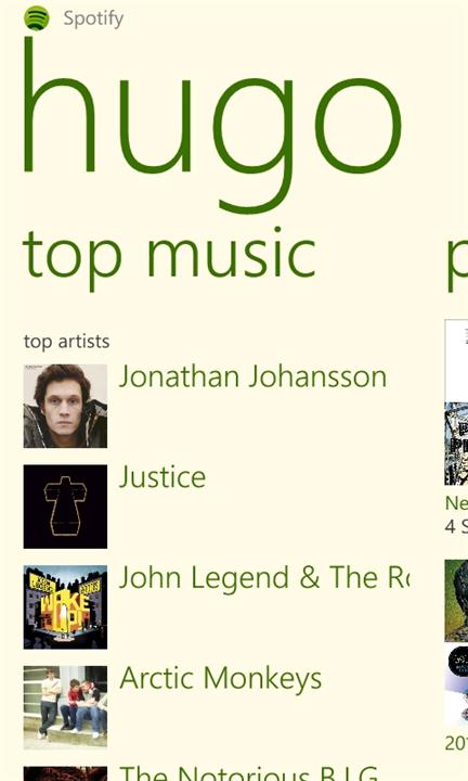 Spotify App Gallery