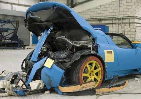 Tesla Roadster Passes Crash Tests, Certified for Production