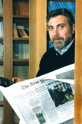 Nobel Winner Krugman Must Now Save Entire World Economy