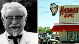 No, Colonel Sanders never killed a man in a shootout