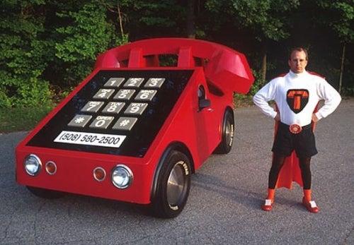 Phone Car Works Parades, Gets Good Reception