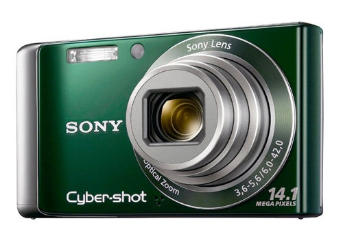 Sony's W370 and W350 Cameras Are First CCD Cameras With Sweep Panorama