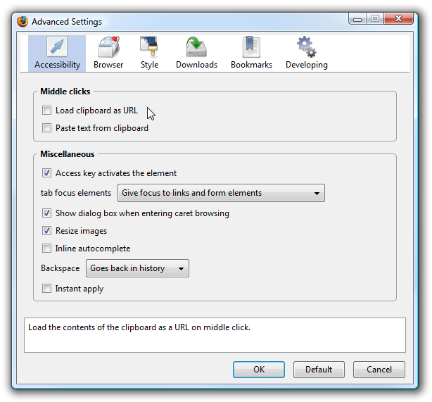 Gui:config Gives Easy Access to Hidden Firefox Settings