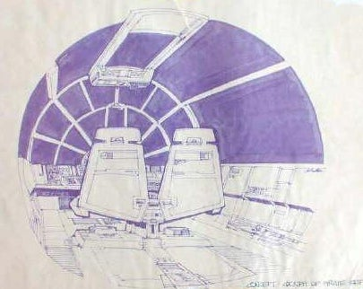 The Amazing High-Tech Drawings that Made Star Wars Possible