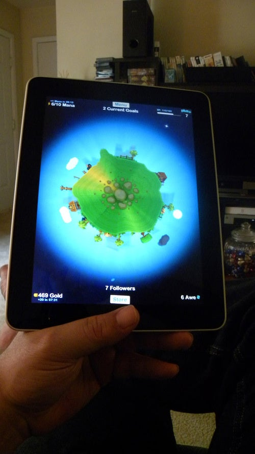How To Orient Yourself For Optimal iPad Gaming