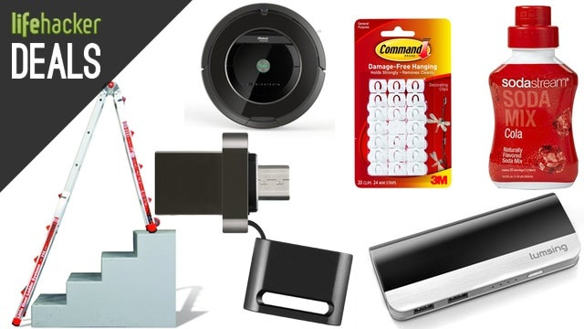 A Flash Drive for Your Android, a Fleet of Roombas, 3M Command [Deals]